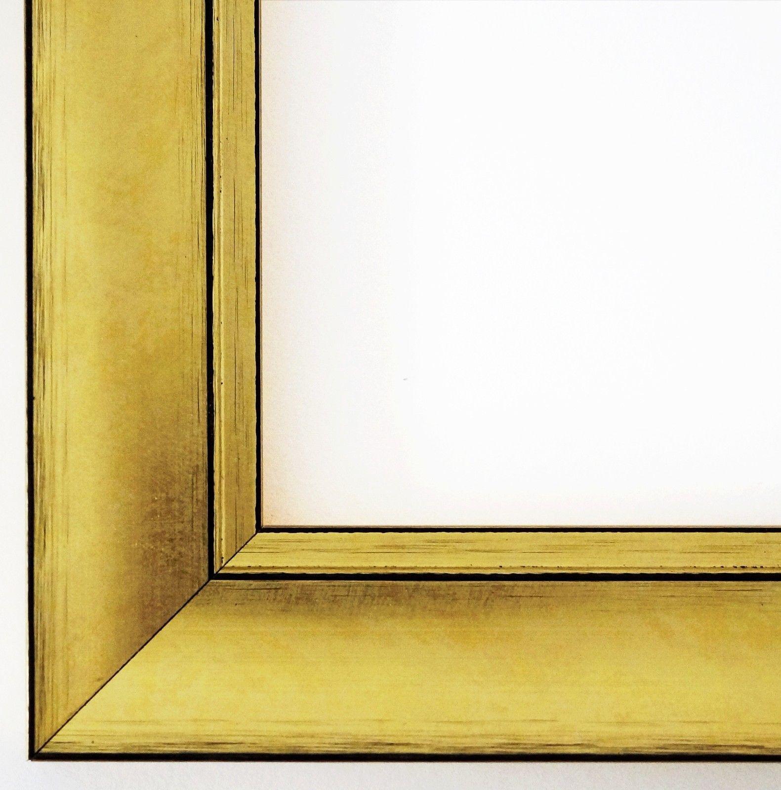 Bilderrahmen Gold Dortmund 4, 2 - 9x13 10x10 10x15 13x18 15x20 18x24 ...
