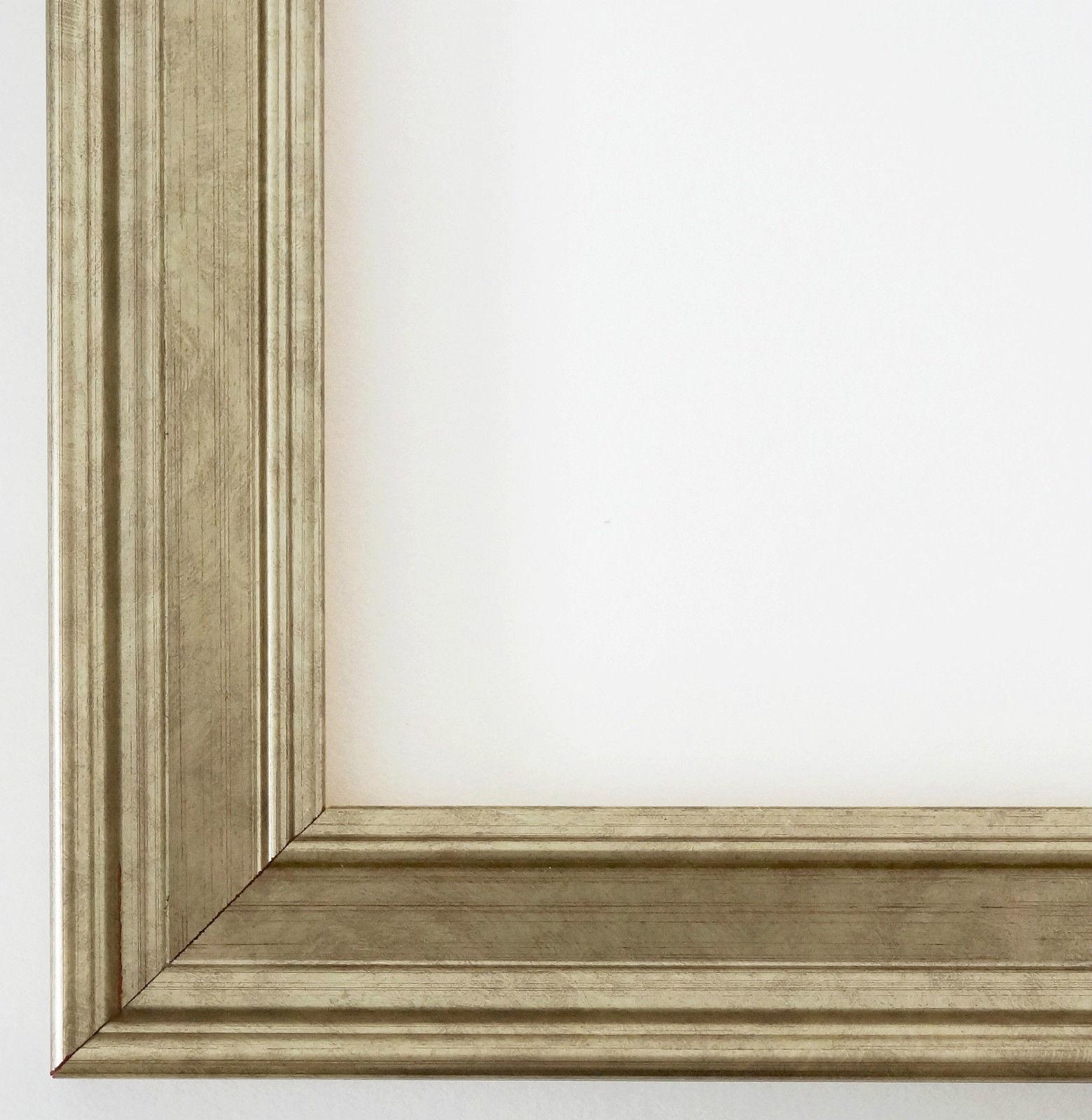 Bilderrahmen Silber Antik Barock Landhaus Rahmen Holz Foto Urkunden ...