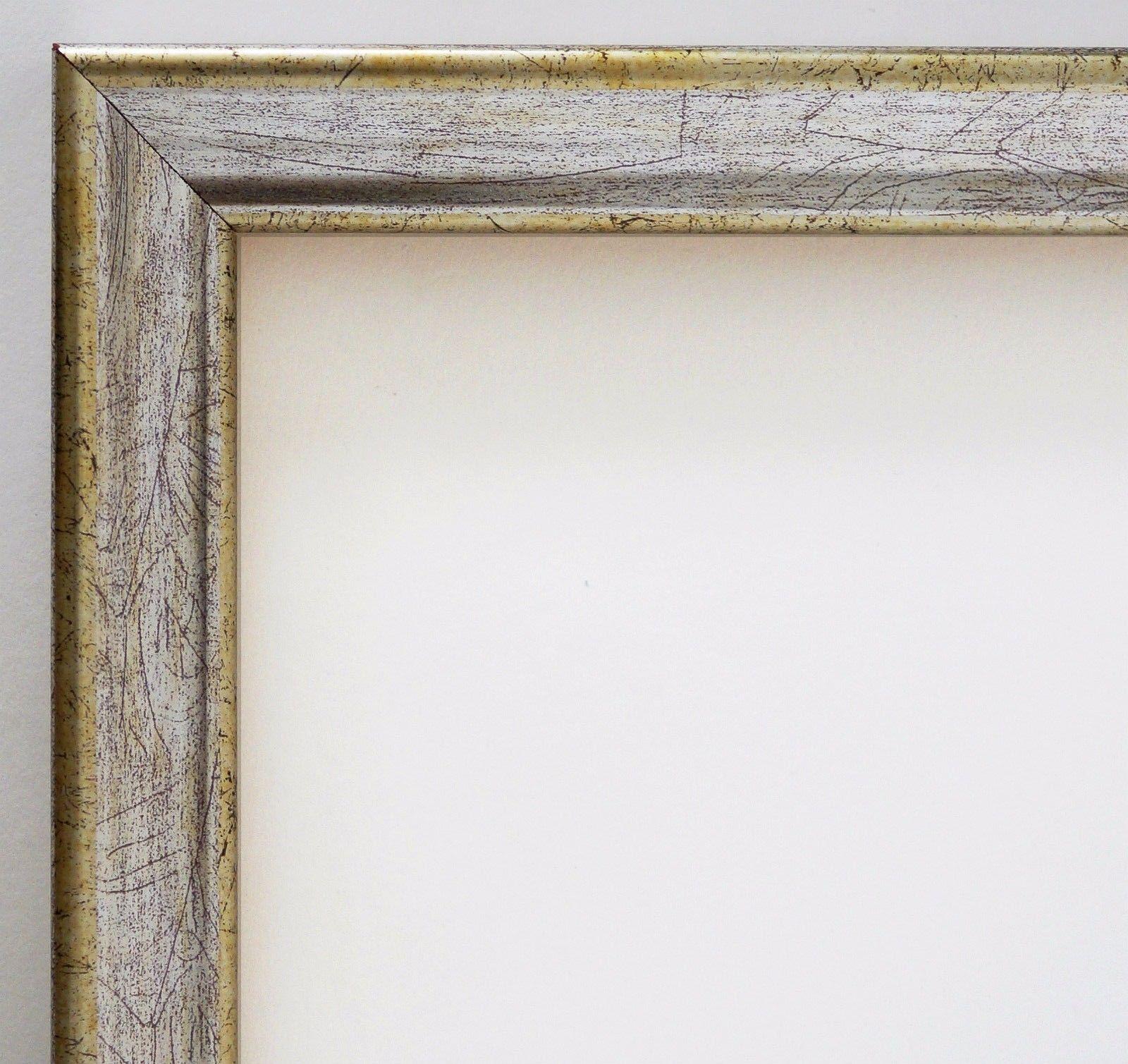 Bilderrahmen Silber Antik Shabby Rahmen Holz Klassisch Kiel 2, 3 ...