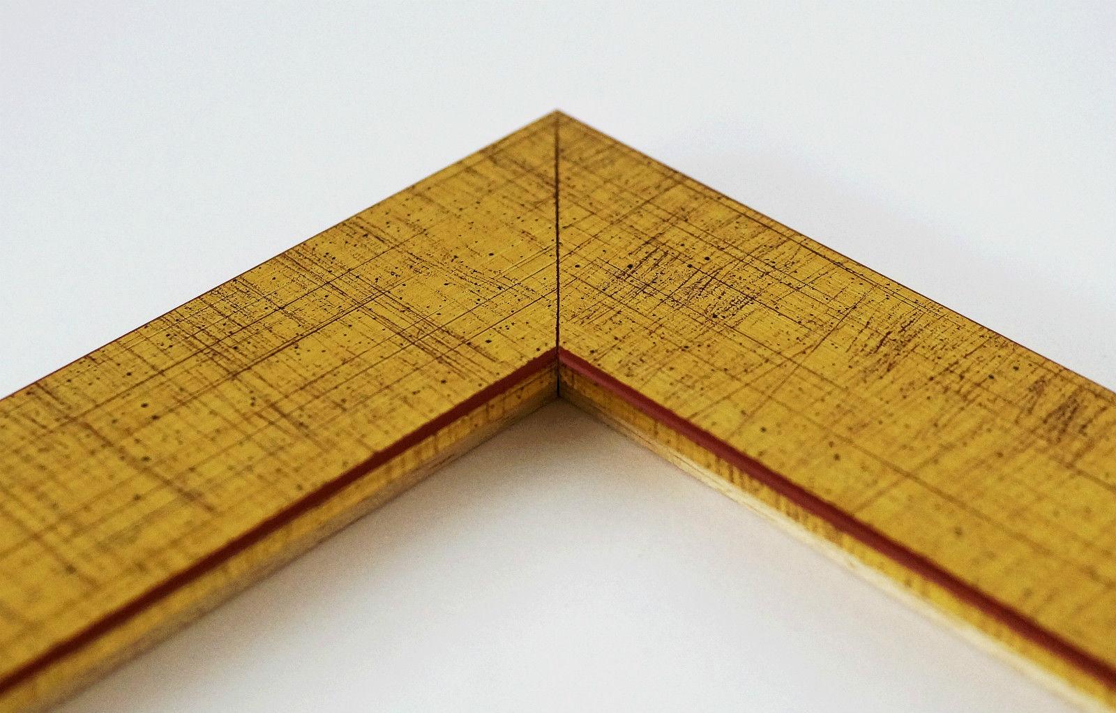 Bilderrahmen Gold Modern Shabby Schlicht Rahmen Holz Duisburg 4, 3 ...