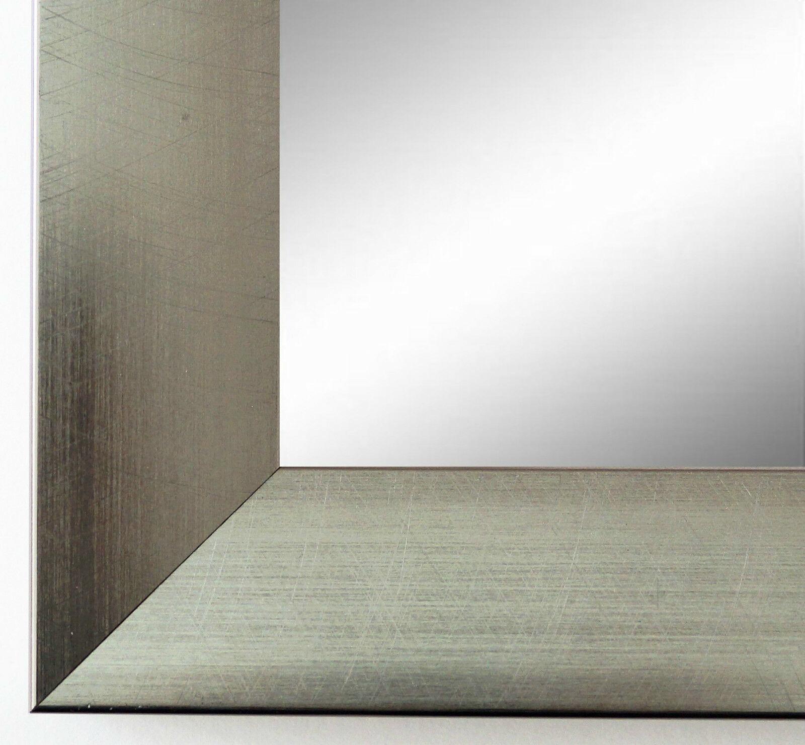Wandspiegel Silber Modern wandspiegel silber spiegel modern badspiegel flur garderobe bergamo