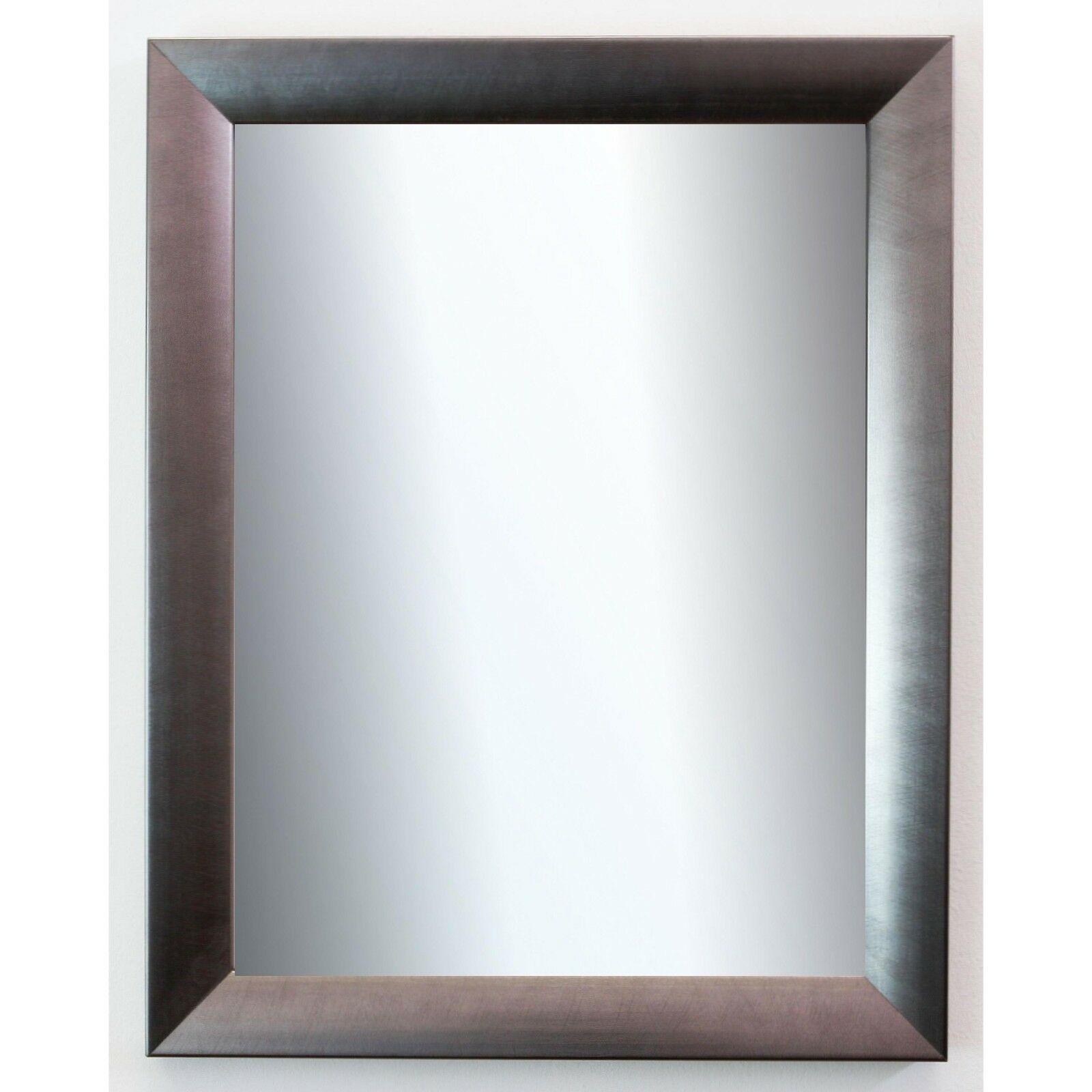 Wandspiegel Silber Spiegel Modern Badspiegel Flur Garderobe Bergamo ...
