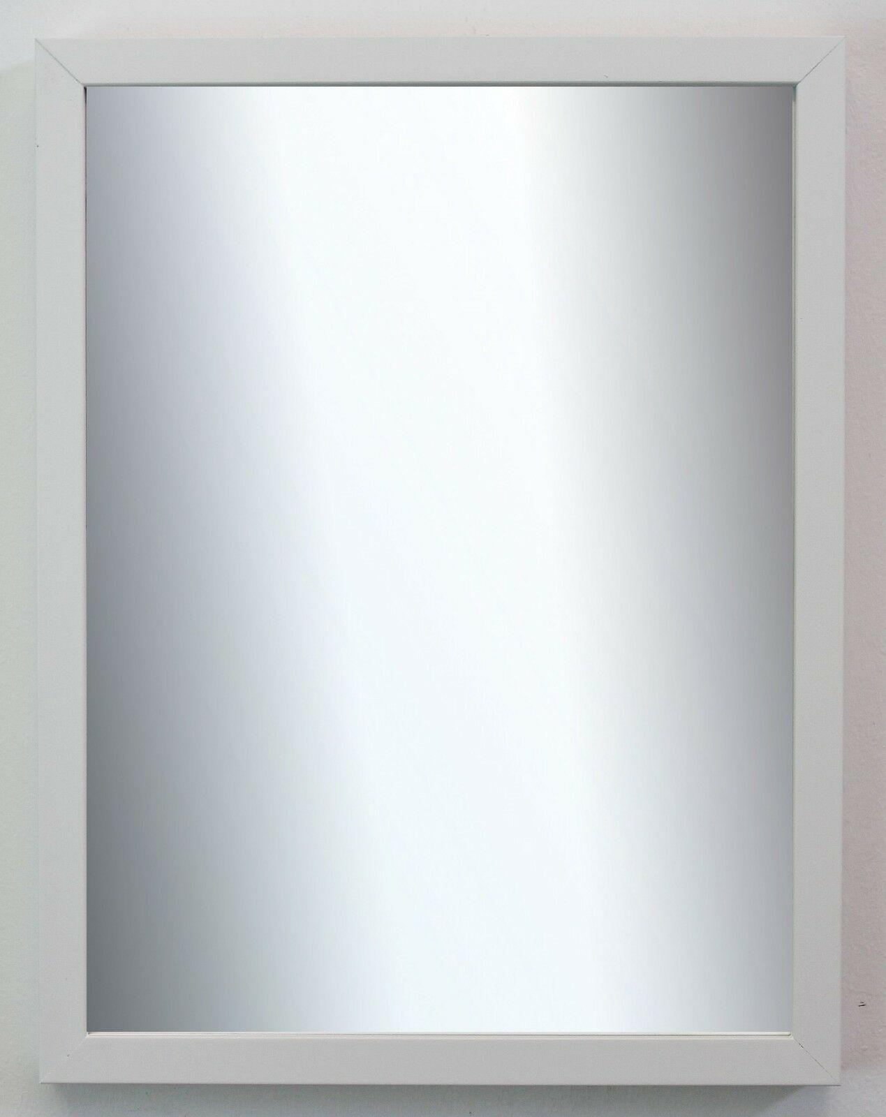 Spiegel Wandspiegel Badspiegel Flur Modern Shabby Vintage Como Weiss 2, 0