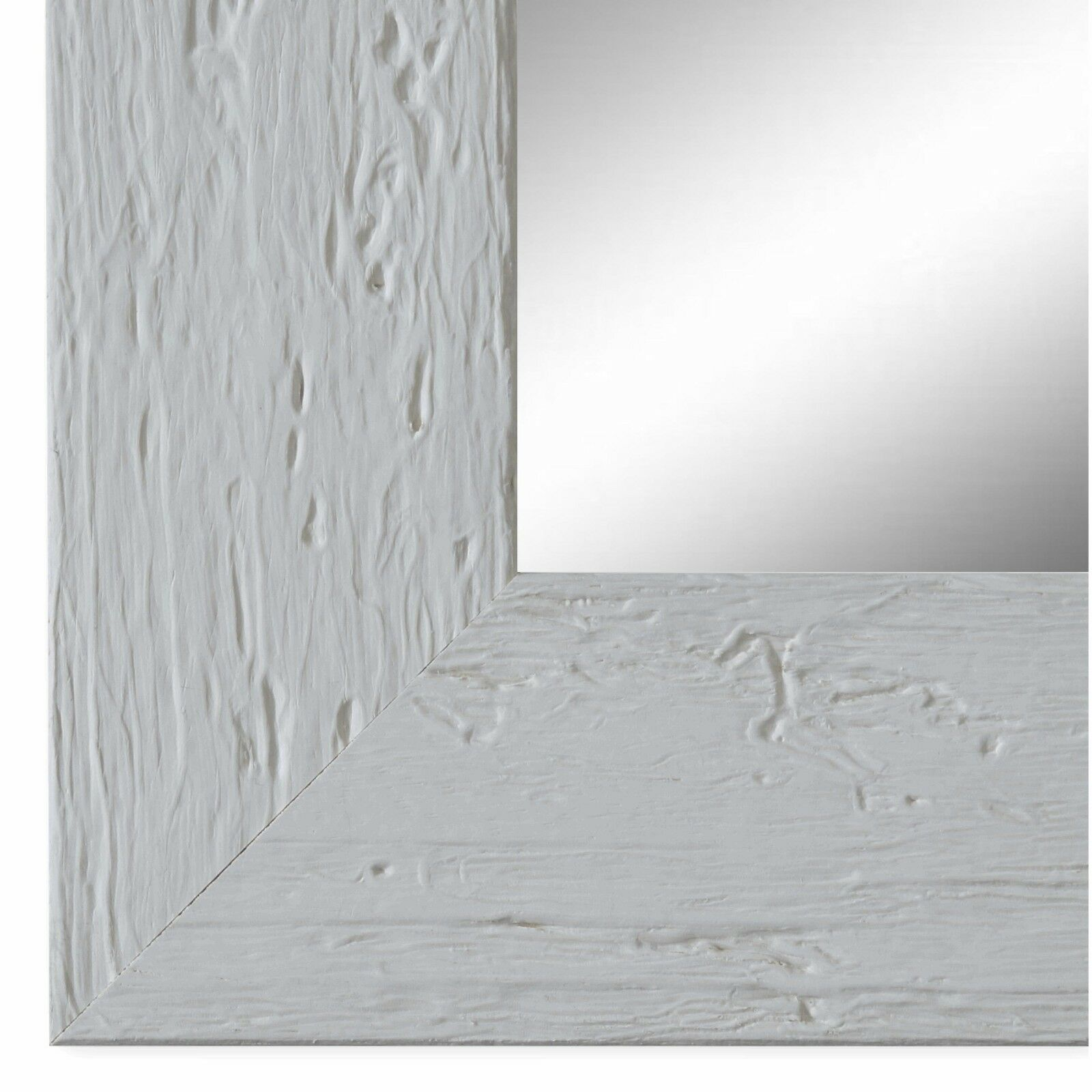 Wandspiegel Spiegel Weiss Rustikal Retro Holz Capri 5 8 Neu Alle