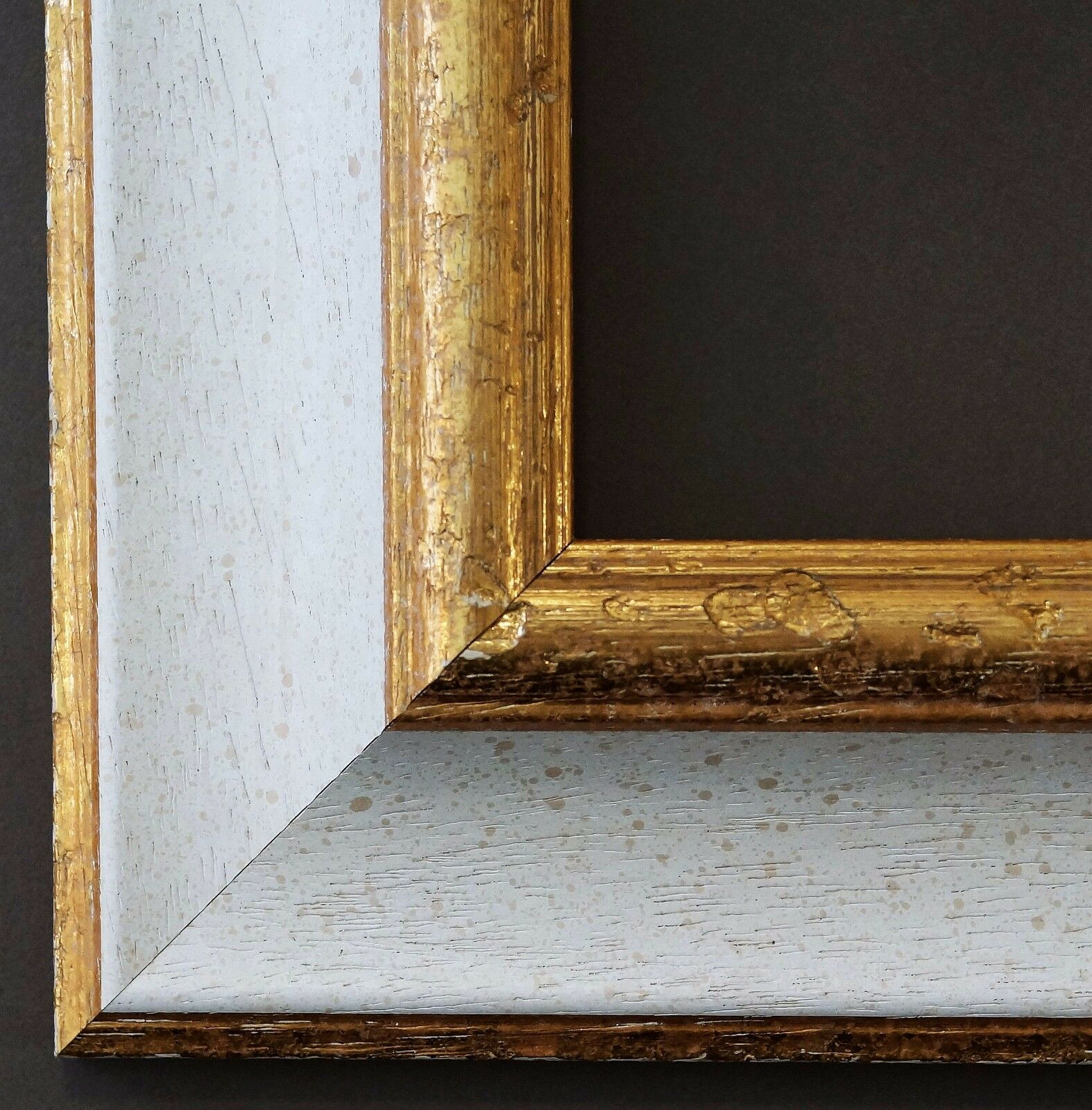 Bilderrahmen wei gold antik barock foto urkunden rahmen for Bilderrahmen holz vintage