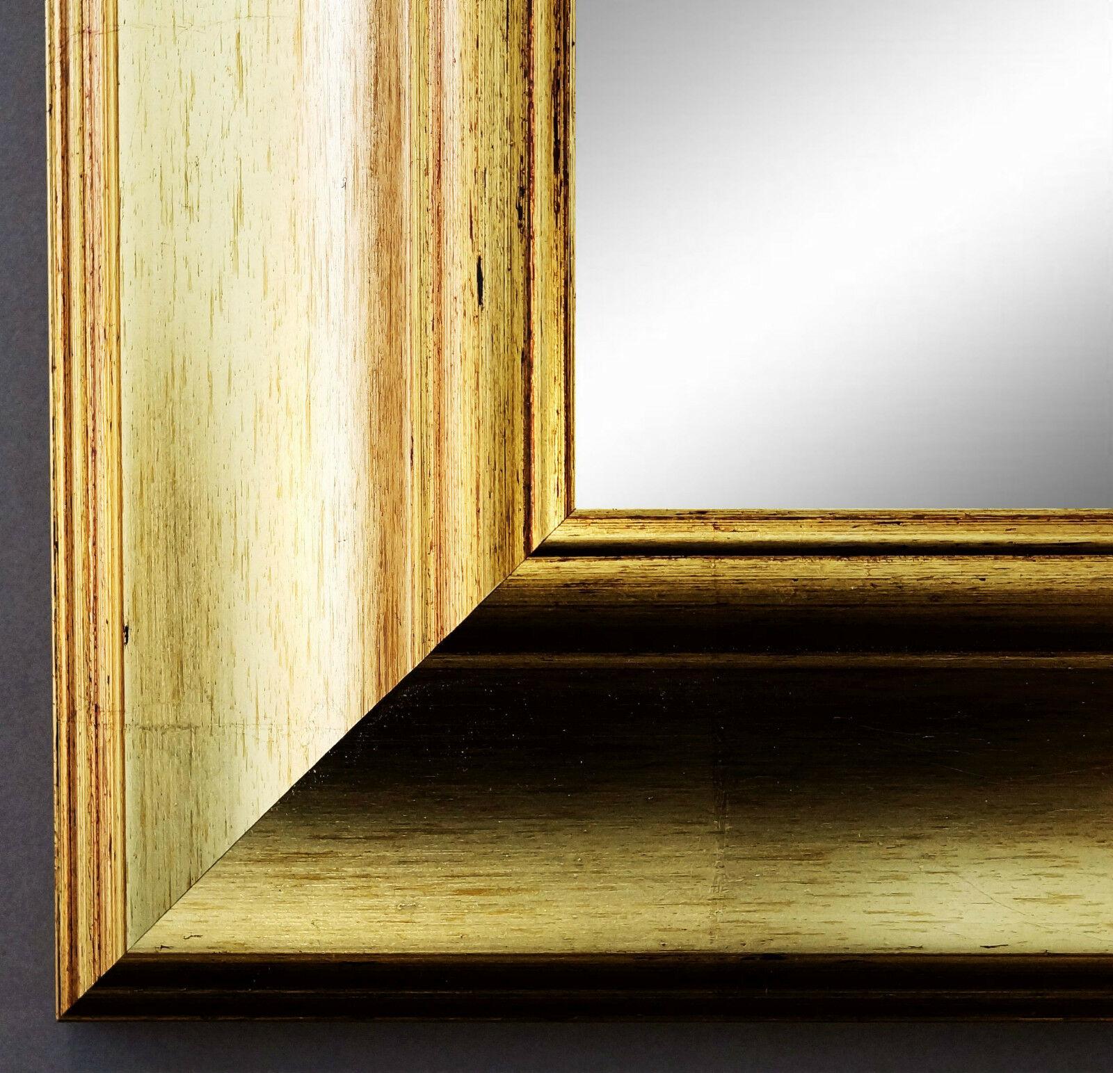 Spiegel Gold Antik Barock Wandspiegel Bad Flur Garderobe Landhaus