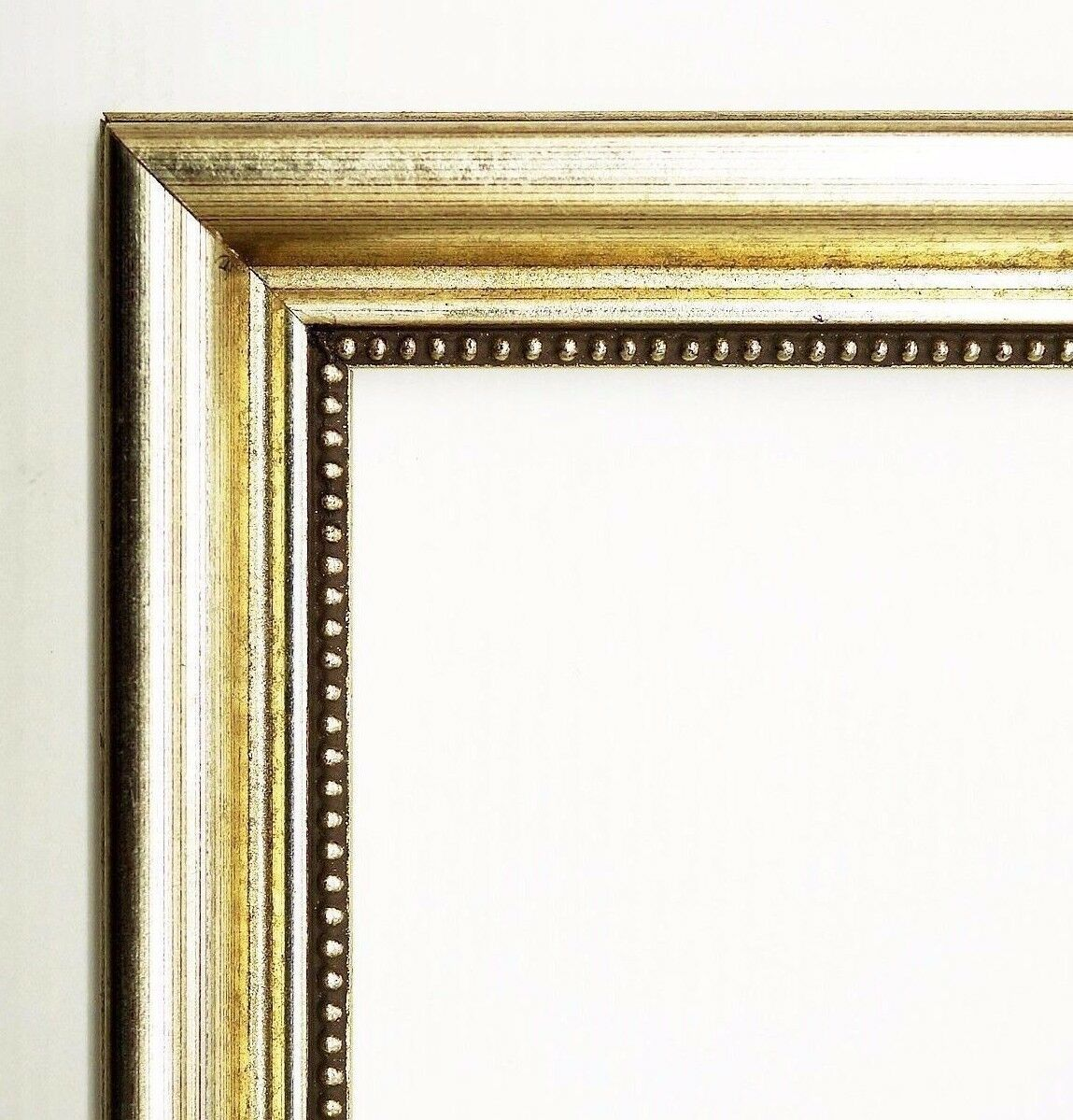 bilderrahmen silber antik barock rahmen foto clever line 5 2, 8
