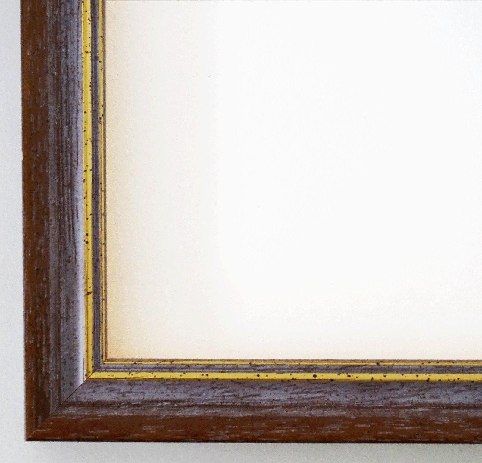 Bilderrahmen Braun Gold Braunschweig - 9x13 10x10 10x15 13x18 15x20 ...