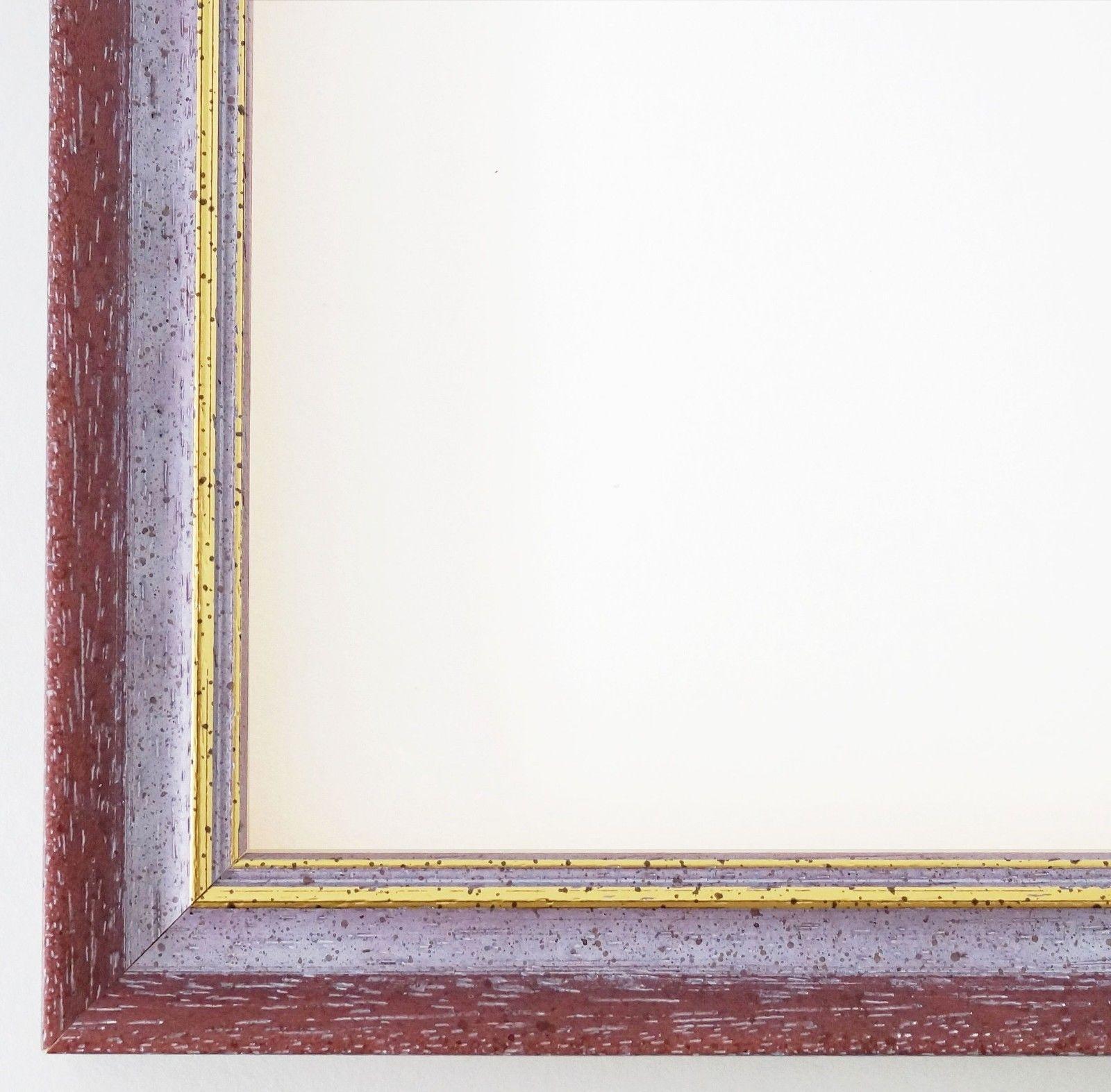 Bilderrahmen Violett Gold Antik Rahmen Klassisch Braunschweig 2, 5 ...