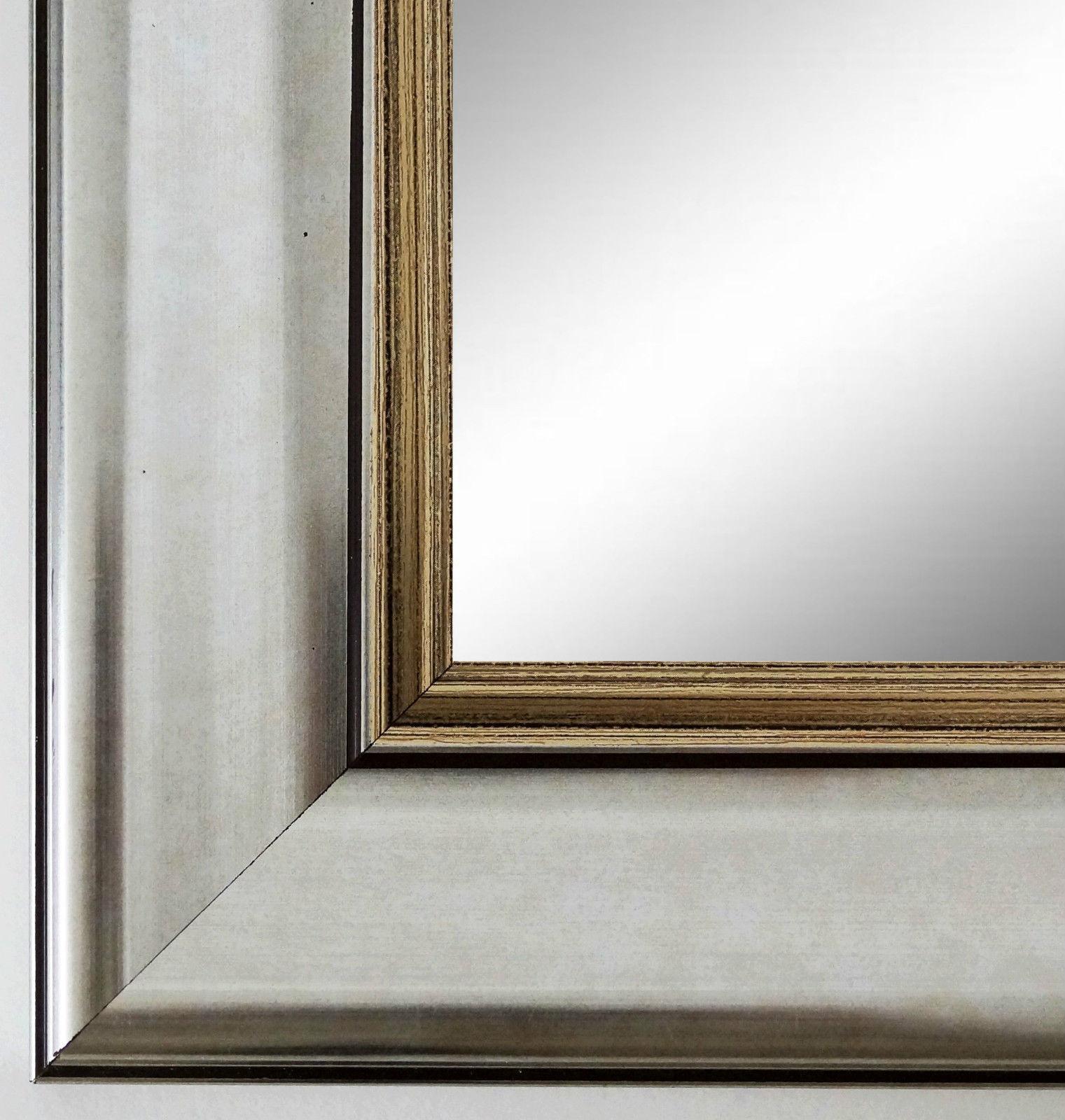 Spiegel Flur wandspiegel silber antik spiegel barock bad flur garderobe flensburg