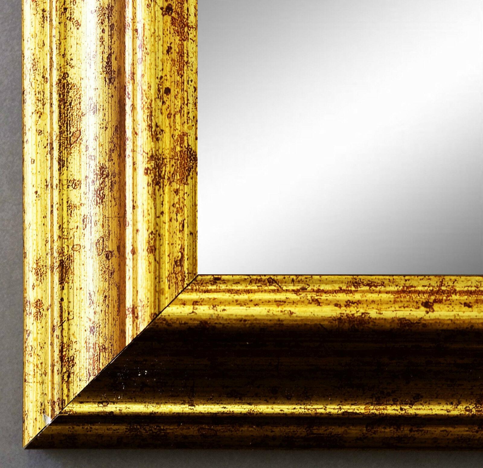 Spiegel gold antik barock wandspiegel badspiegel for Wandspiegel badspiegel