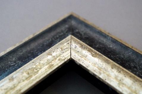 Bilderrahmen Schwarz Silber Antik Barock Fotorahmen Urkunde Rahmen Holz Acta 6, 8 - Vorschau 5