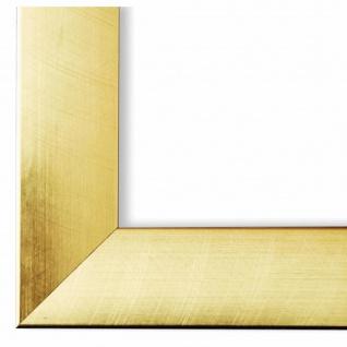 Bilderrahmen Gold Holz Bergamo 4, 0 - DIN A2 - DIN A3 - DIN A4 - DIN A5