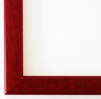 Bilderrahmen Rahmen Holz Modern Art Deco Hannover in Rot 2, 4 - Top Qualität
