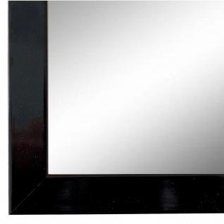 Wandspiegel Spiegel Schwarz Lack Modern Holz Como 2, 0 - NEU alle Größen
