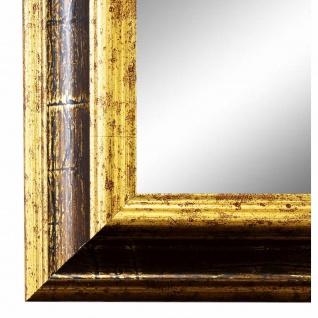 Wandspiegel Spiegel Braun Gold Vintage Retro Holz Bari 4, 4 - NEU alle Größen