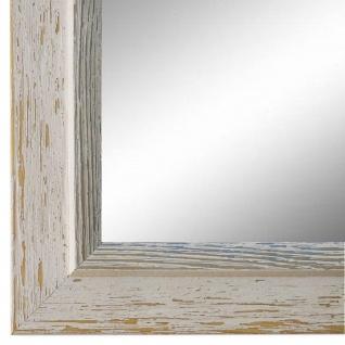 Spiegel Wandspiegel Beige hell Blau Modern Holz Catanzaro 3, 9 - NEU alle Größen