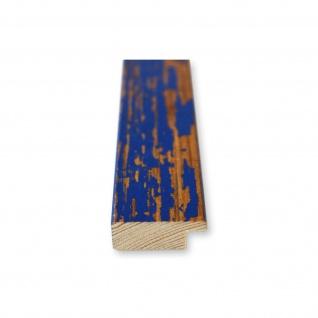 Bilderrahmen Blau Antik Vintage Holz Cremona 3, 0 - NEU alle Größen - Vorschau 5