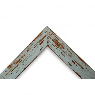 Wandspiegel Spiegel Türkis Shabby Antik Holz Cremona 3, 0 - NEU alle Größen - Vorschau 3