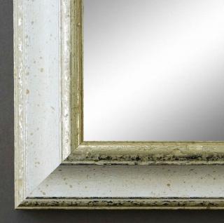 Garderobenspiegel Weiss Silber Genua Antik Barock 4, 3 - NEU alle Größen - Vorschau 2