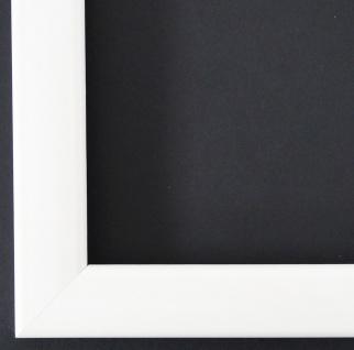 Bilderrahmen Weiss Lack Modern Rahmen Art Deco Hannover 2, 4 - alle Größen NEU