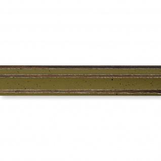 Bilderrahmen Grün Antik Holz Cosenza 2, 0 - Din A2 - Din A3 - Din A4 - Din A5 - Vorschau 2