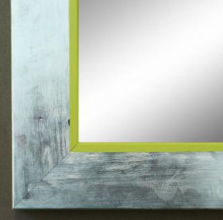 Spiegel Wandspiegel Badspiegel Flur Garderobe Modern Lecce Silber Grün 3, 9