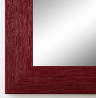 Spiegel Wandspiegel Badspiegel Flur Garderobe Shabby Florenz dunkel Rot 4, 0