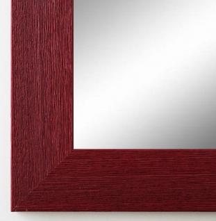 Wandspiegel dunkel Rot Florenz Shabby 4, 0 - alle Größen