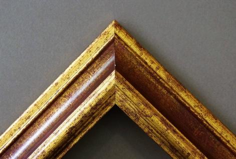 Badspiegel Rot Gold Bari Antik Barock 4, 2 - NEU alle Größen - Vorschau 3