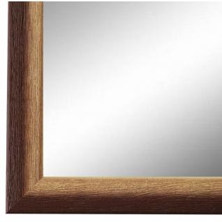 Wandspiegel Spiegel BraunRetro Vintage Holz Pinerolo 2, 3 - NEU alle Größen