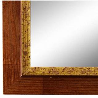 Spiegel Wandspiegel Braun Gold Modern Holz Catanzaro 3, 9 - NEU alle Größen