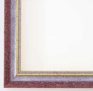 Bilderrahmen Violett Gold Antik Rahmen Klassisch Braunschweig 2, 5 alle Größen