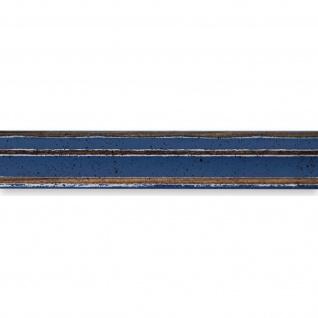 Bilderrahmen hell Blau Antik Shabby Holz Cosenza 2, 0 - 40x60 50x50 50x60 60x60 - Vorschau 2