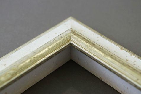 Dekospiegel Weiss Silber Genua Antik Barock 4, 2 - alle Größen - Vorschau 5