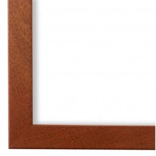 Bilderrahmen Ocker Braun Modern Holz Neapel 2, 0 - NEU alle Größen