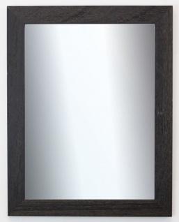 Badspiegel Schwarz Struktur Florenz Landhaus Shabby 4, 0 - NEU alle Größen
