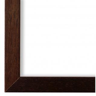 Bilderrahmen Braun Struktur Modern Holz Como 2, 0 - NEU alle Größen