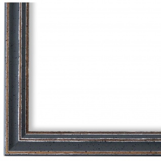 Bilderrahmen Grau Antik Holz Cosenza 2, 0 - DIN A2 - DIN A3 - DIN A4 - DIN A5