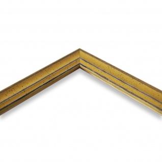 Bilderrahmen Gelb Antik Holz Cosenza 2, 0 - Din A2 - Din A3 - Din A4 - Din A5 - Vorschau 4