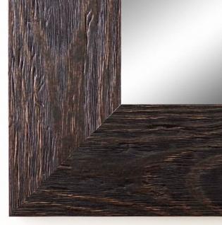 Flurspiegel dunkel Braun Venedig Landhausstil Shabby 6, 8 - alle Größen