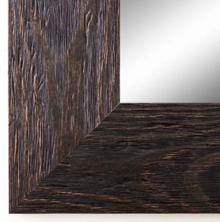 Wandspiegel dunkel Braun Venedig Landhausstil Shabby 6, 8 - alle Größen