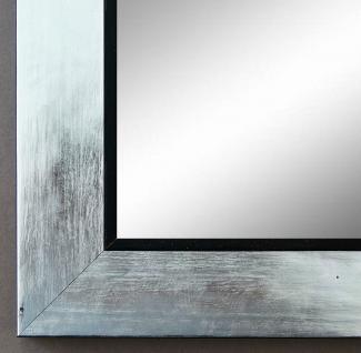 Spiegel Wandspiegel Badspiegel Flur Garderobe Modern Lecce Silber Schwarz 3, 9