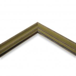 Bilderrahmen Grün Antik Holz Cosenza 2, 0 - Din A2 - Din A3 - Din A4 - Din A5 - Vorschau 4