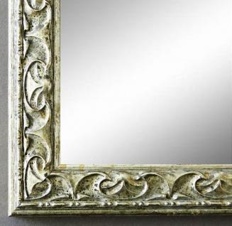 NEU alle Größen Bilderrahmen Rahmen Holz Antik-Still Bologna in Silber 62,0