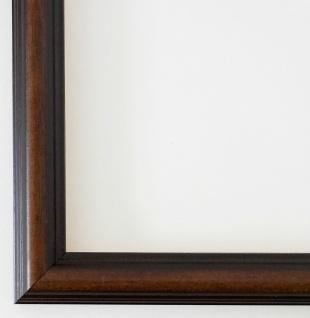 Bilderrahmen Rahmen Holz Modern Art Berlin in Braun 2, 3 - Top Qualität