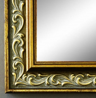 Wandspiegel Grau Gold Verona Antik Barock Vintage 4, 4 - alle Größen