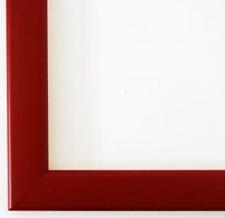 Bilderrahmen matt Rot Hannover 2, 4 - DIN A2 - DIN A3 - DIN A4 - DIN A5