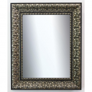 Wandspiegel Schwarz Silber Ancona Barock 7, 5 - NEU alle Größen