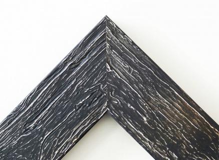 Bilderrahmen Capri in Schwarz mit Passepartout in Weiss 5, 8 - NEU alle Größen - Vorschau 2